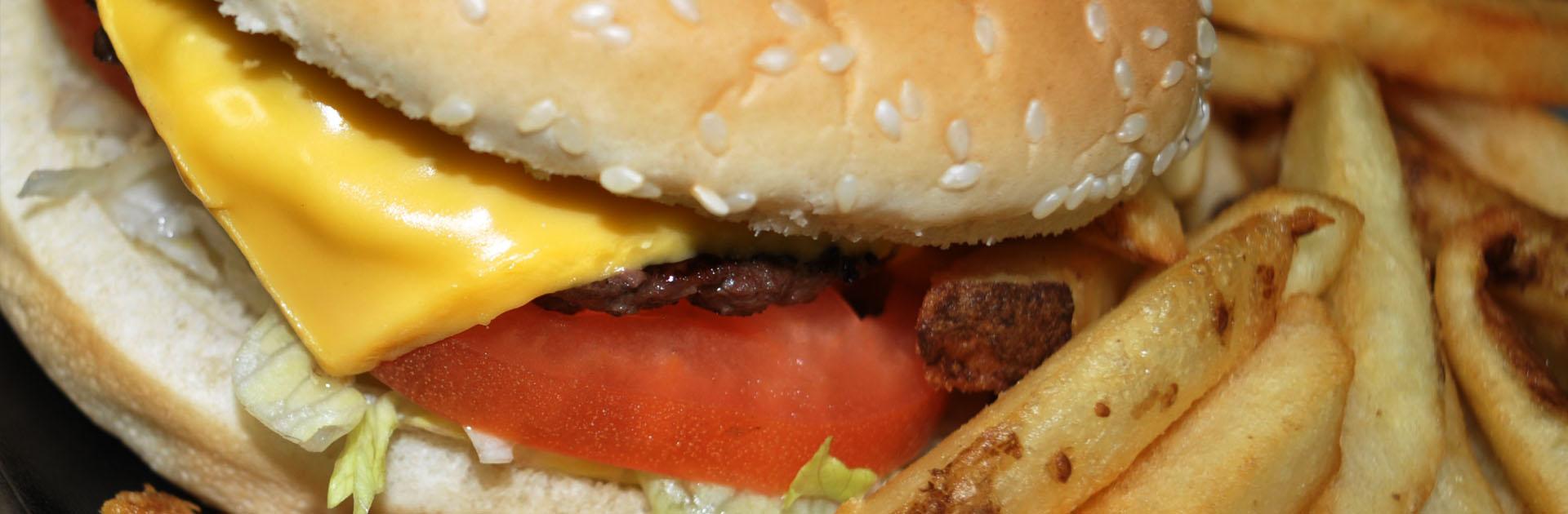 Nishie G's Big Cheeseburger